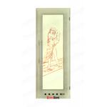 Дверь DOORWOOD 700*1900,  ЭЛИТ с вентиляцией, коробка липа
