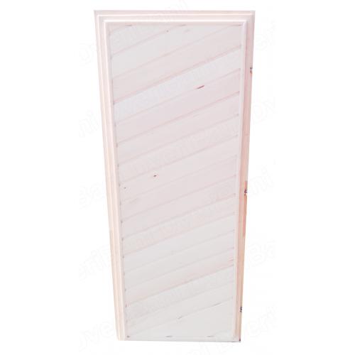 Дверь деревянная 1800х700 липа (сорт В)