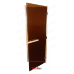 Дверь DOORWOOD DW 700*1800, Теплый день (бронза), коробка осина