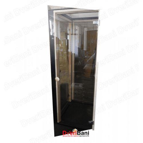 Дверь АКМА 700*1800 Бронза 8мм лиственная коробка