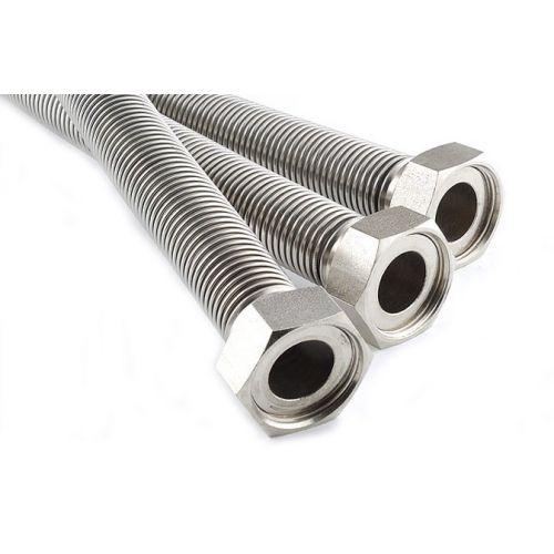 Трубка гибкая гофрированная из нержавеющей стали 3/4 (D 20) 1,2 мп.