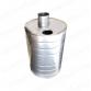 Бак `Комфорт` круглый на трубе 45л Ф115 (AISI 201-1,0мм)