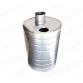 Бак `Комфорт` круглый на трубе 72л Ф115 (AISI 201-1,0мм)