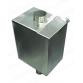Бак прямоугольный самоварного типа ф115/V100 AISI 430/1,0 БПС-100