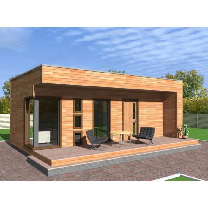 Проекты домов из бруса в 3D цены и фото  Добротные дома