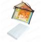 Полотенце-простынь вафельное, банное, белое 80*150см `Банные штучки` арт.32072