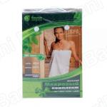 Комплект махровый для женщин (парео 140х80см + рукавица) `Банные штучки` арт.32250