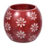 Испаритель и подсвечник 2в1 Цветы из камня для бани и сауны `Банные штучки` арт.40224
