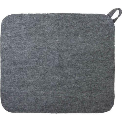 Коврик для сауны серый `Hot Pot`  арт.41182