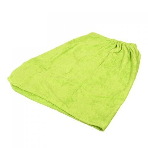 Накидка махровая для женщин, для бани и сауны 140х80см `Банные штучки` арт.32172