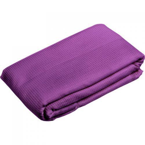 Полотенце-простынь вафельное, банное, цветное, однотонное (белое, оранжевое) 80*150см `Банные штучки` арт.32070
