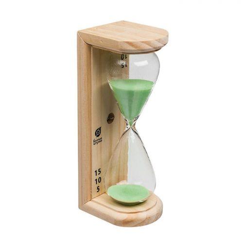 Часы песочные 6,5*9*19см Люкс  для бани и сауны арт.18035