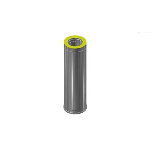Сэндвич-труба Нерж+Нерж (0,8мм) д.115х180, L-0,5м