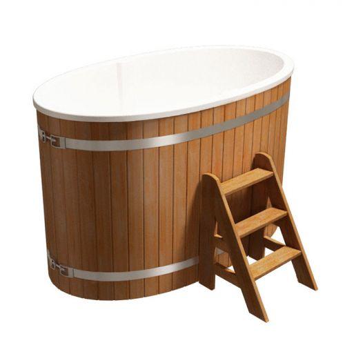 Купель двухместная `Стандарт++` для бани (Термососна) 980x1750x1100мм