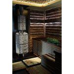Печь банная `Атмосфера Про` сетка нержавейка