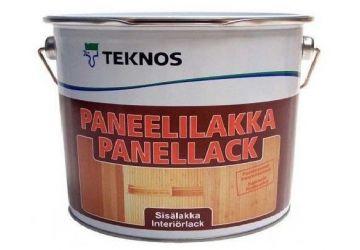 PANEELILAKKA лак водоразбавляемый дисперсионный для древянных поверхностей полуматовый, 2,7 л