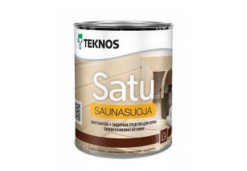 Защитный состав для вагонки бани/сауны Teknos Saunasuoja 0,9 л