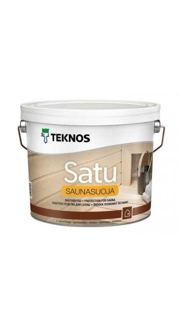 Защитный состав для вагонки бани/сауны Teknos Saunasuoja 2,7 л