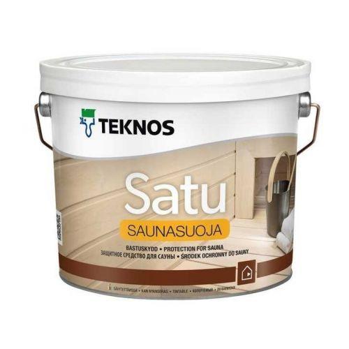 Защитный состав для вагонки бани/сауны Teknos Saunasuoja 9 л