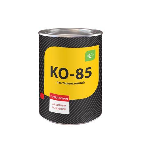 Лак КО-85 термостойкий LCON 0,8кг