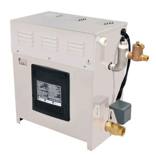 SAWO Парогенератор из нержавеющей стали без пульта управления, 6.0 кВт, 1 вывод пара и автослив