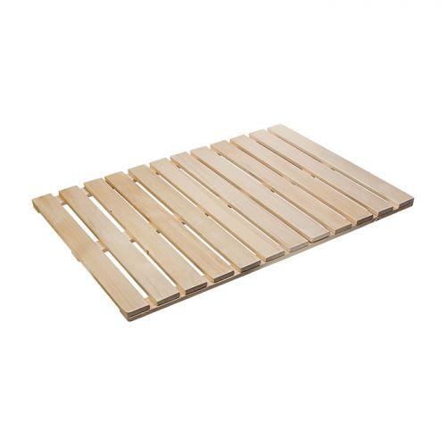 Решетка на пол 70х100 см для бани и сауны (липа) `Банные штучки` арт.03603