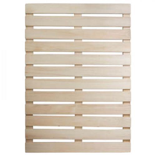 Решетка на пол 50х100 см для бани и сауны (липа) `Банные штучки` арт.03703