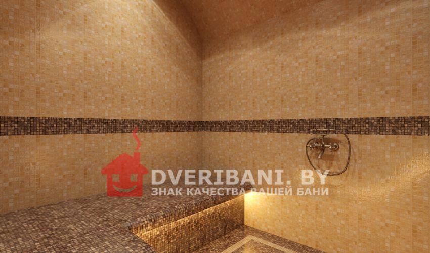 Турецкая баня хамам 2 х 2 в доме