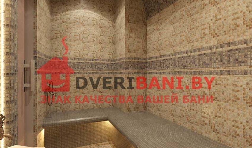 Строительство турецкой бани хамам в отеле под ключ
