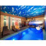 Баня 100м2 с терассой, барбекю и басейном