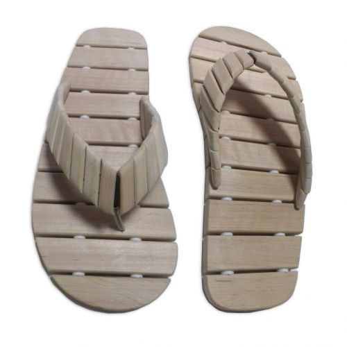 Тапочки под палец из ольхи (36-37 р)