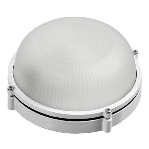 Светильник электрический для бани круглый, влагозащищенный, термостойкий `БШ` арт.32501 (IP54, E27 40-60Вт) t=125C