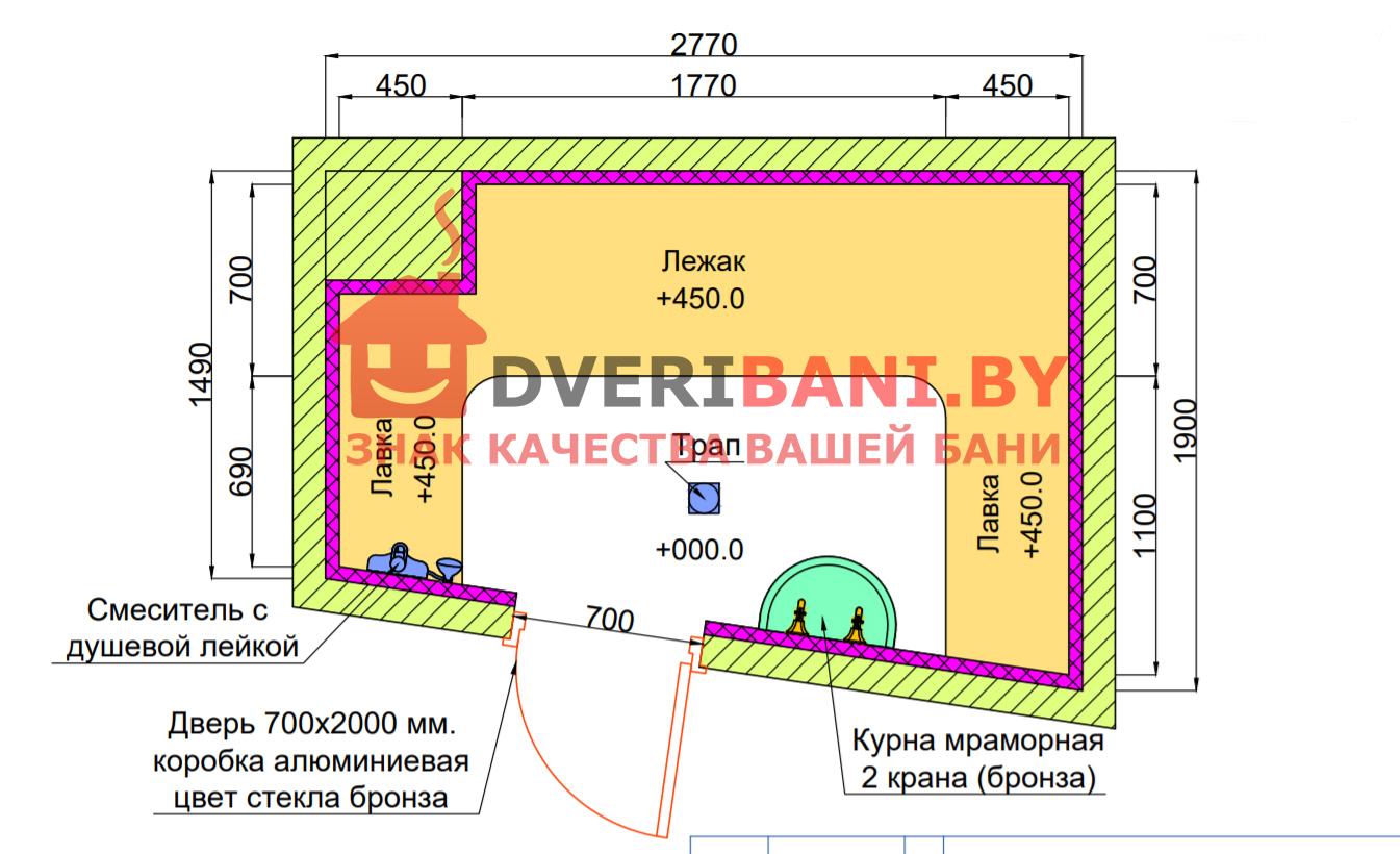 Хамам строительство в Минске фото