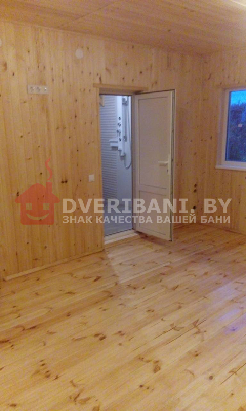 комната отдыха в каркасной бане Минск фото