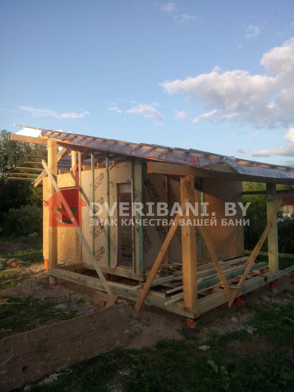 строительство бани под ключ в Минске фото