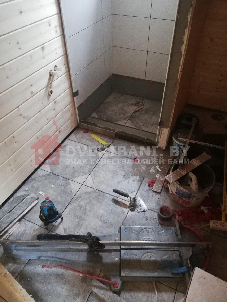 моечная в бане под ключминск фото