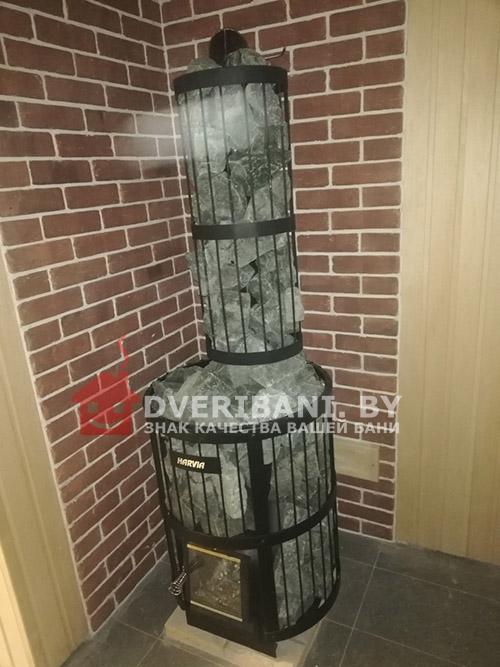Парилка под ключ в минске с печью Harvia 240 фото