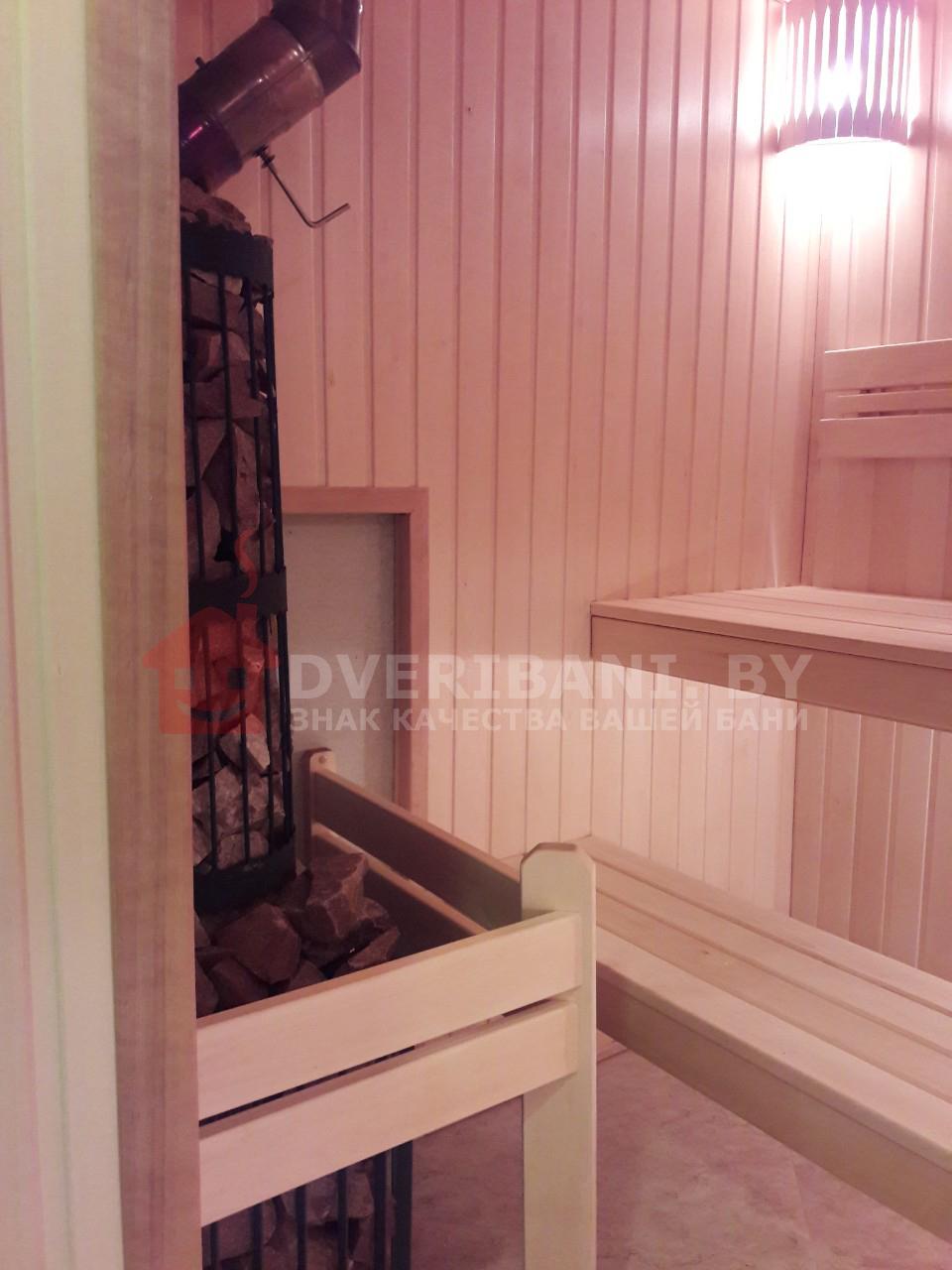 отделка парилки в бане с печью этна панорама 18 минск фото